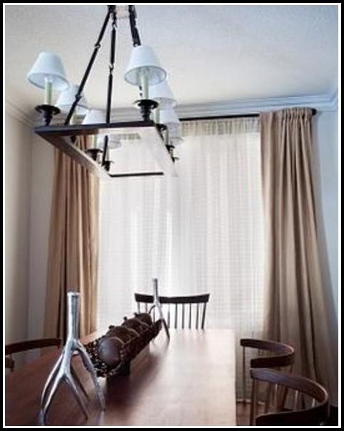 Bronze Double Rod Curtain Rods