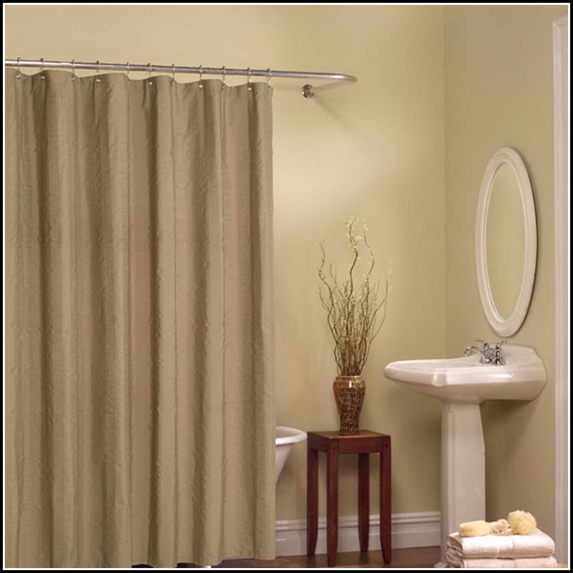 Brown And Beige Shower Curtains