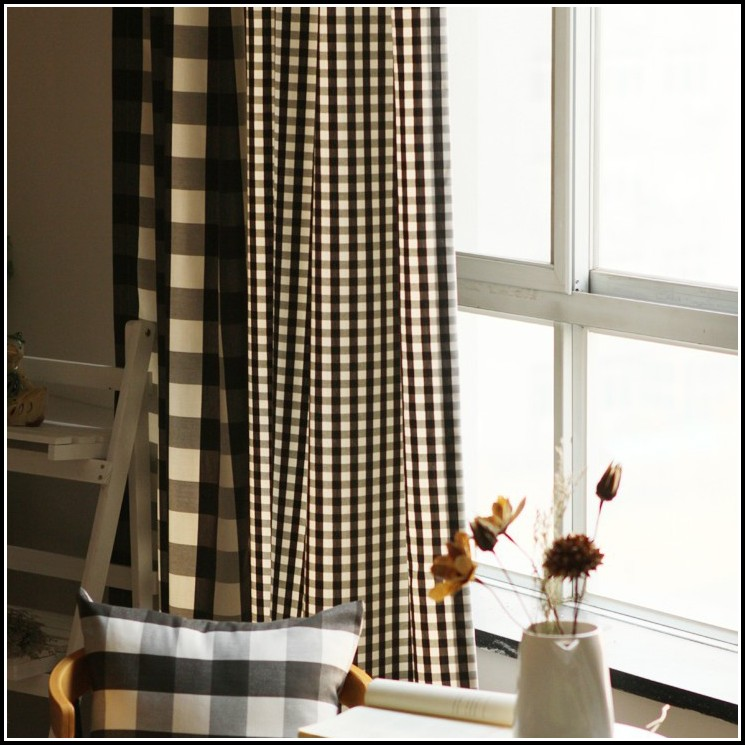 Brown And Black Kitchen Curtains