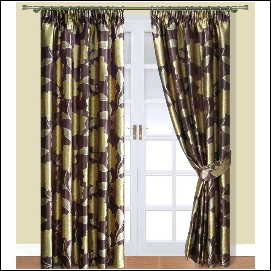 Brown And Green Shower Curtains