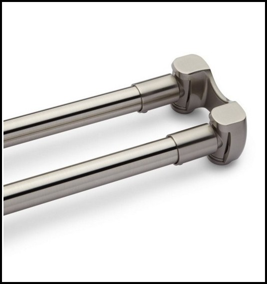 Brushed Nickel Curtain Rods Bed Bath And Beyond