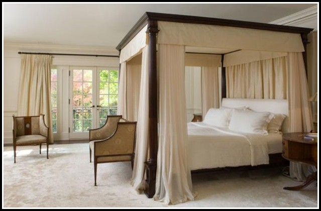 Canopy Curtains For Beds Ideas