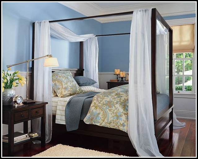 Canopy Curtains For Full Bed