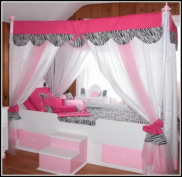 Canopy Curtains For Twin Bed