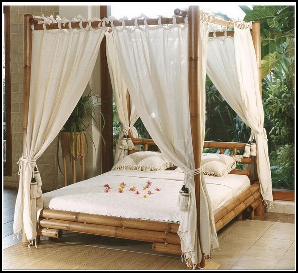 Canopy Drapes For Beds