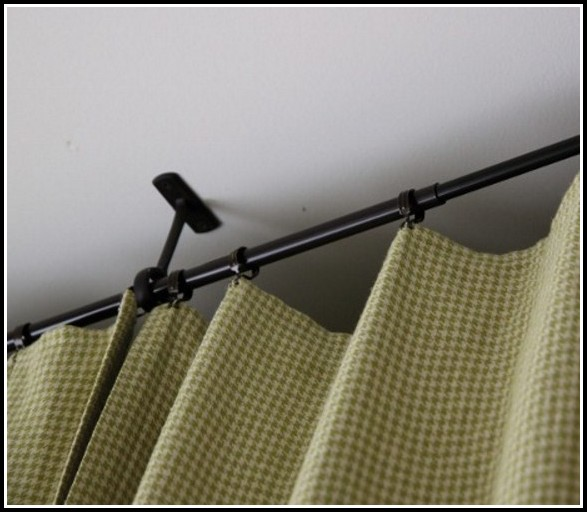 Ceiling Bracket For Curtain Rods