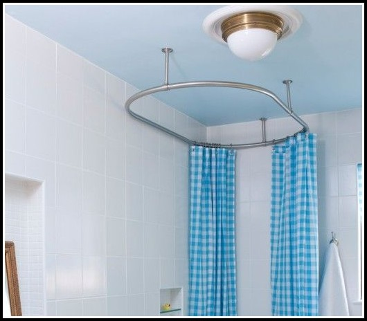 Ceiling Mount Curtain Rod Hangers