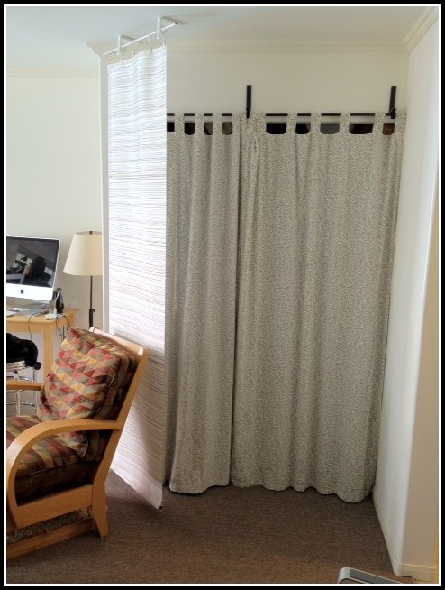 Ceiling Mount Curtain Rods Walmart