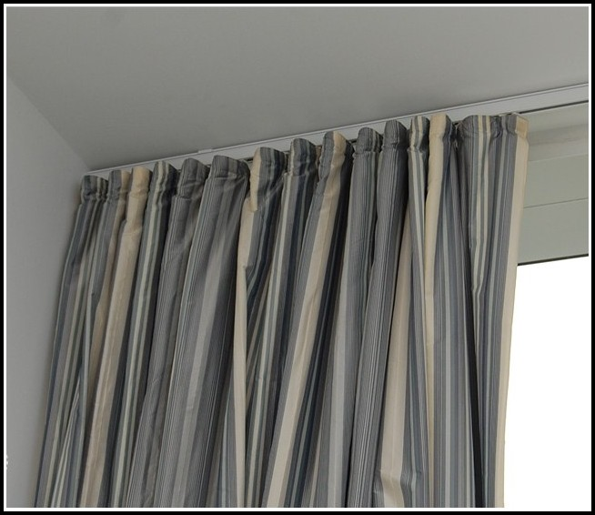 Ceiling Mounted Curtain Rod Track