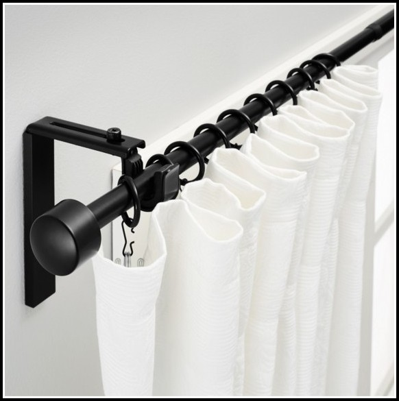 Ceiling Mounted Curtain Rods Brackets