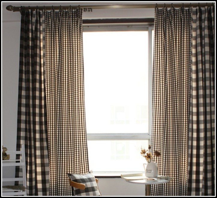 Cotton Tab Top Curtains 84