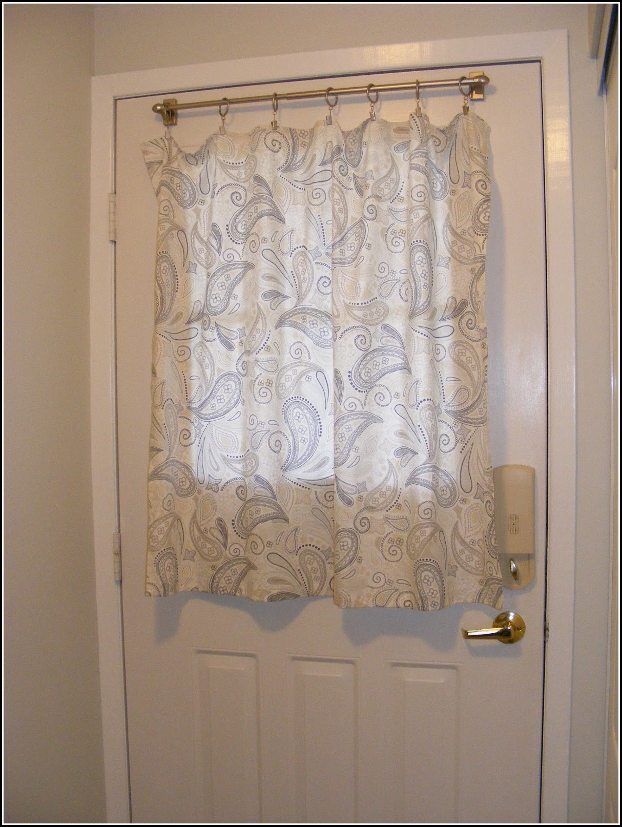 Curtain For Small Window In Door