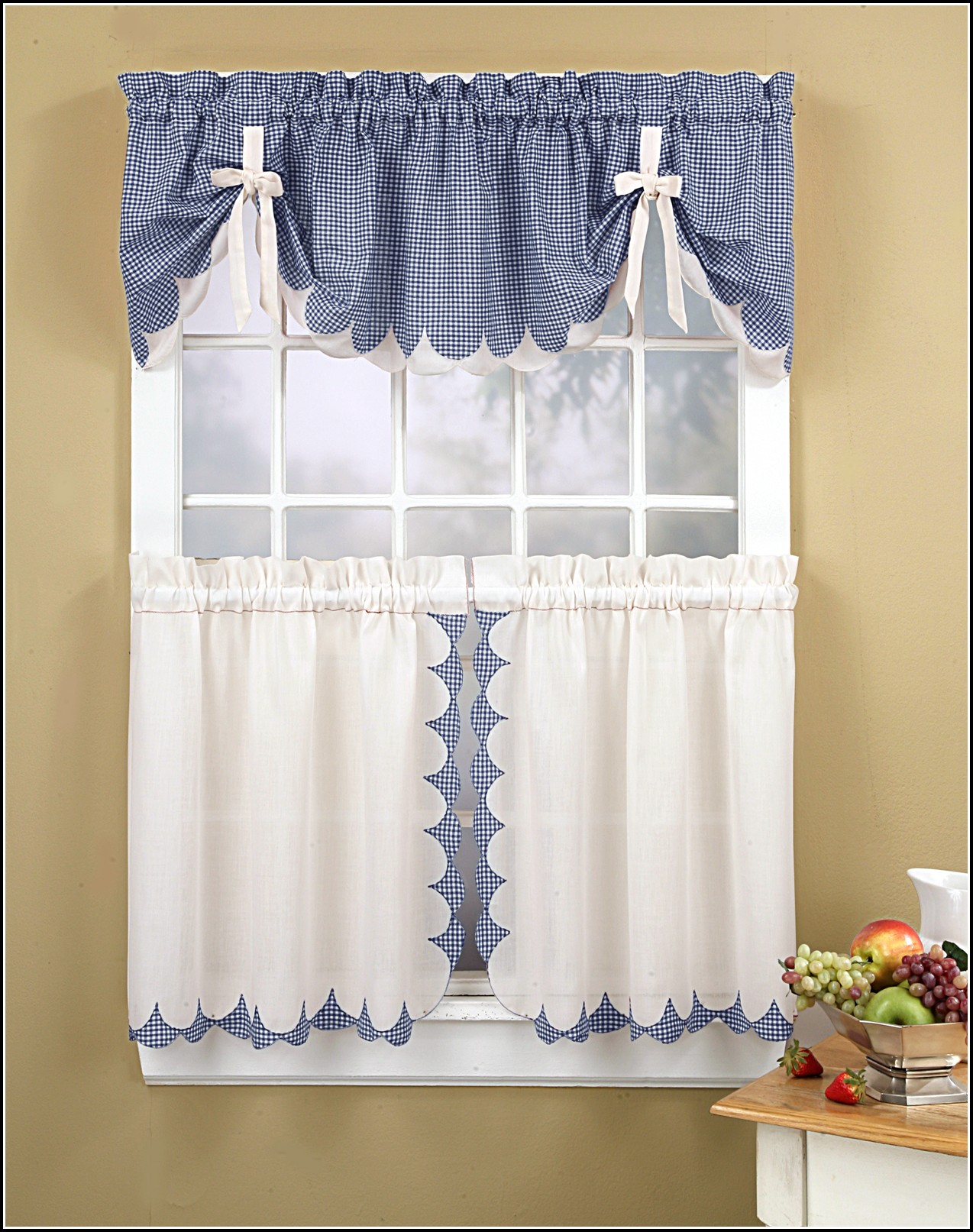 Curtain Ideas For Large Bow Windows