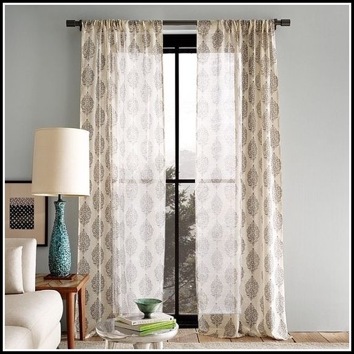 Curtain Ideas For Living Room With 4 Windows