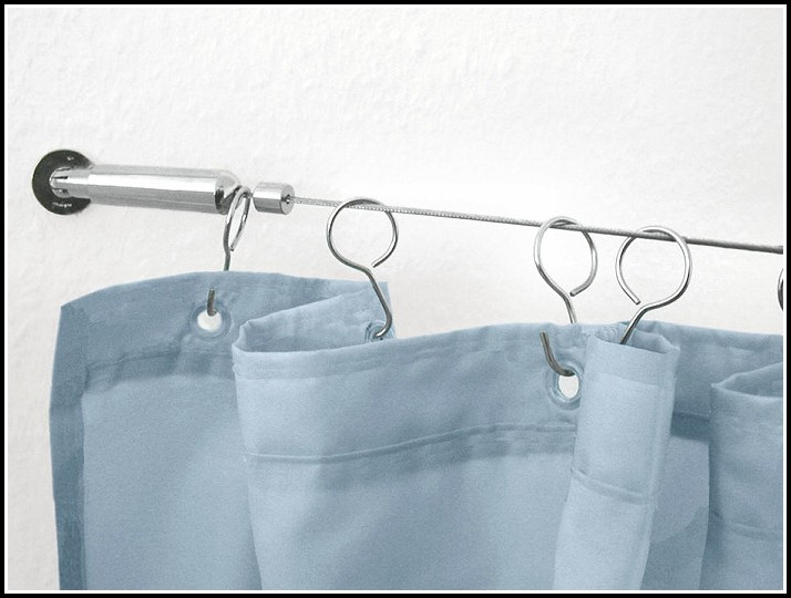 Curtain Rod Brackets That Hang From The Ceiling