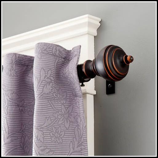 Curtain Rod For Bay Window Walmart