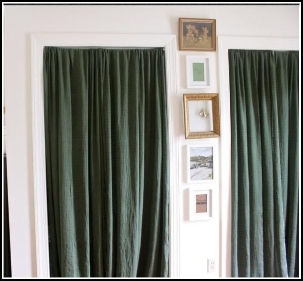 Curtain Rod For Door Panel