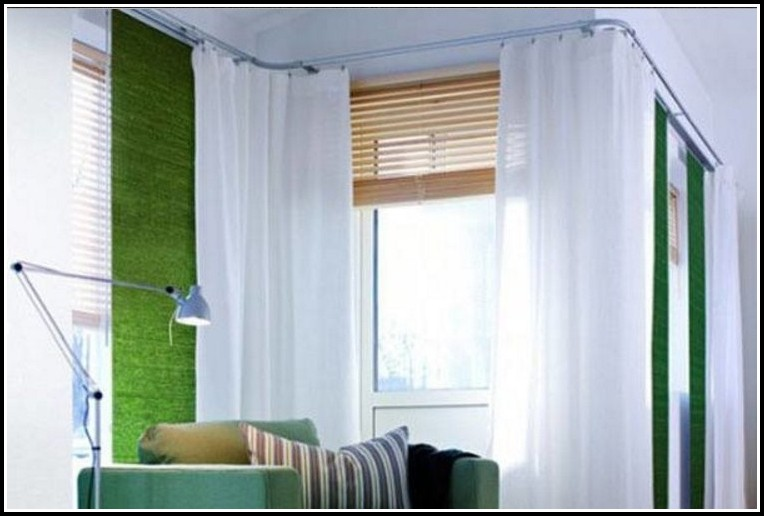 Curtain Rod For Two Corner Windows