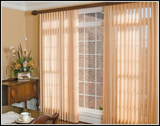Curtain Rod Over Sliding Glass Door