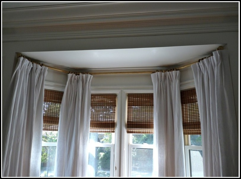 Curtain Rods For Large Bay Windows