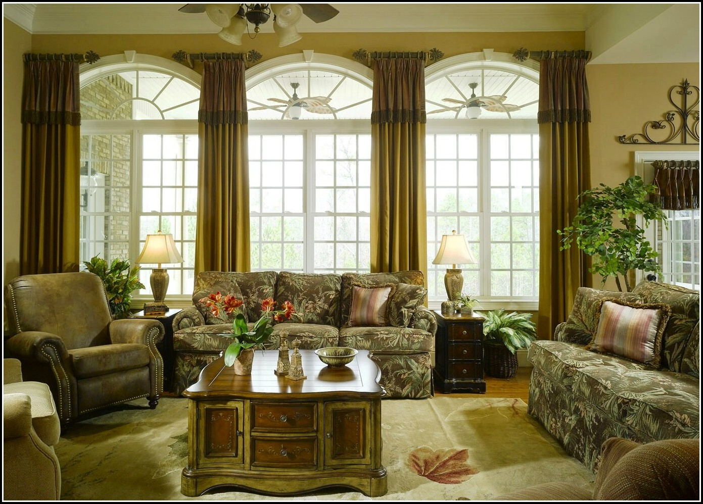 Curtain Rods For Large Picture Window