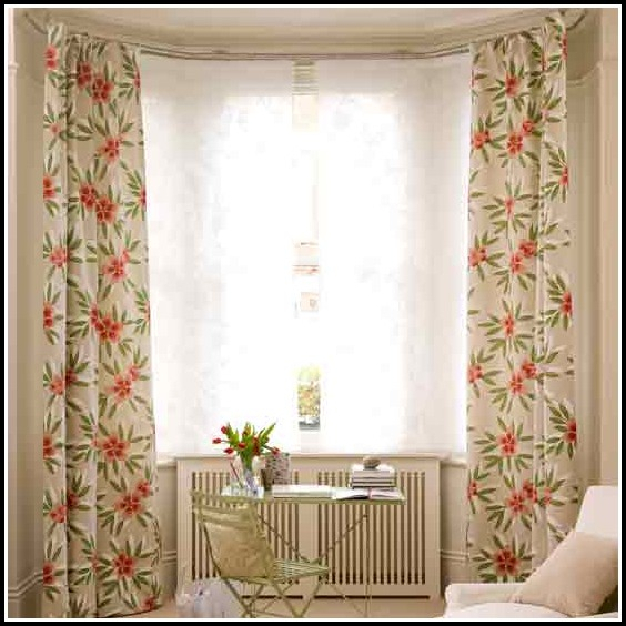 Curtains For Bay Windows Ideas In Kitchen