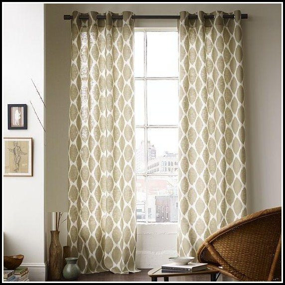 Curtains For Large Windows Picture Windows