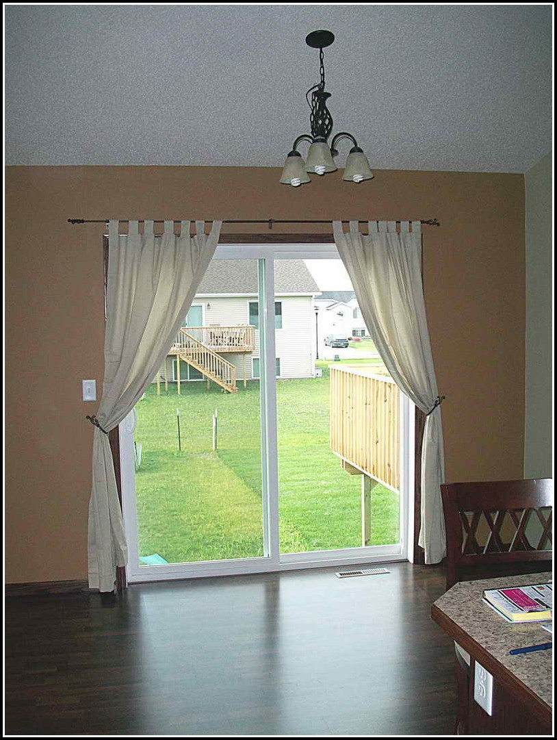 Curtains For Sliding Glass Doors Size