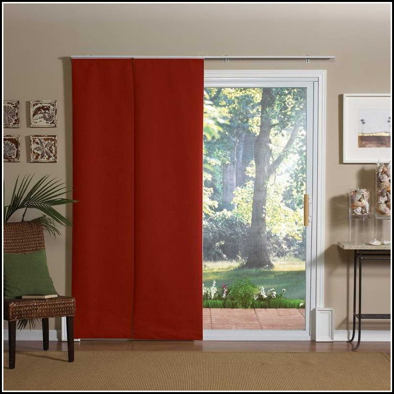 Curtains Sliding Glass Doors Bedroom