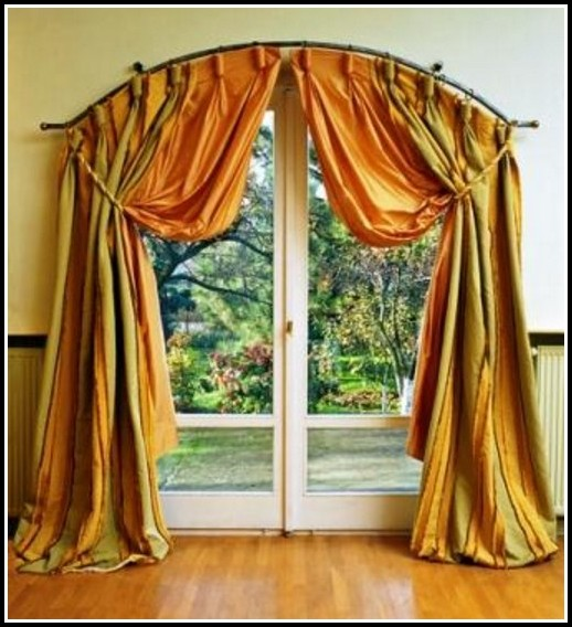 Curved Bay Window Curtain Rods