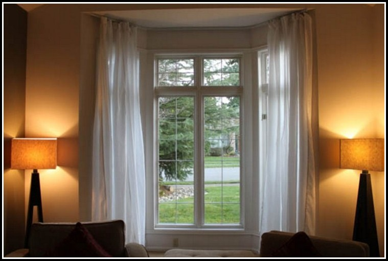Curved Curtain Rod For Eyebrow Window