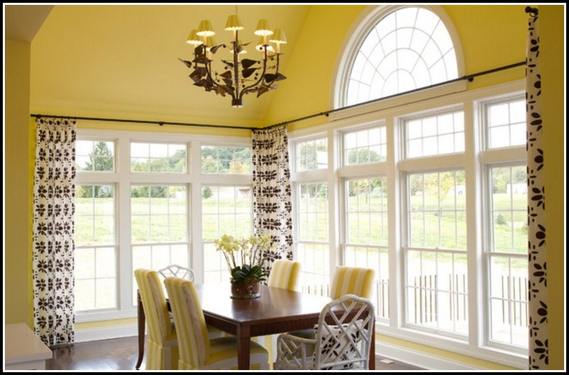 Curved Curtain Rods For Corners