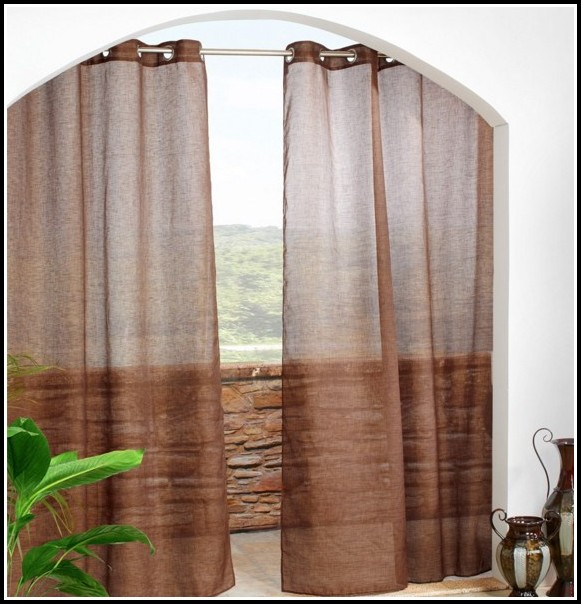 Custom Outdoor Curtains With Grommets