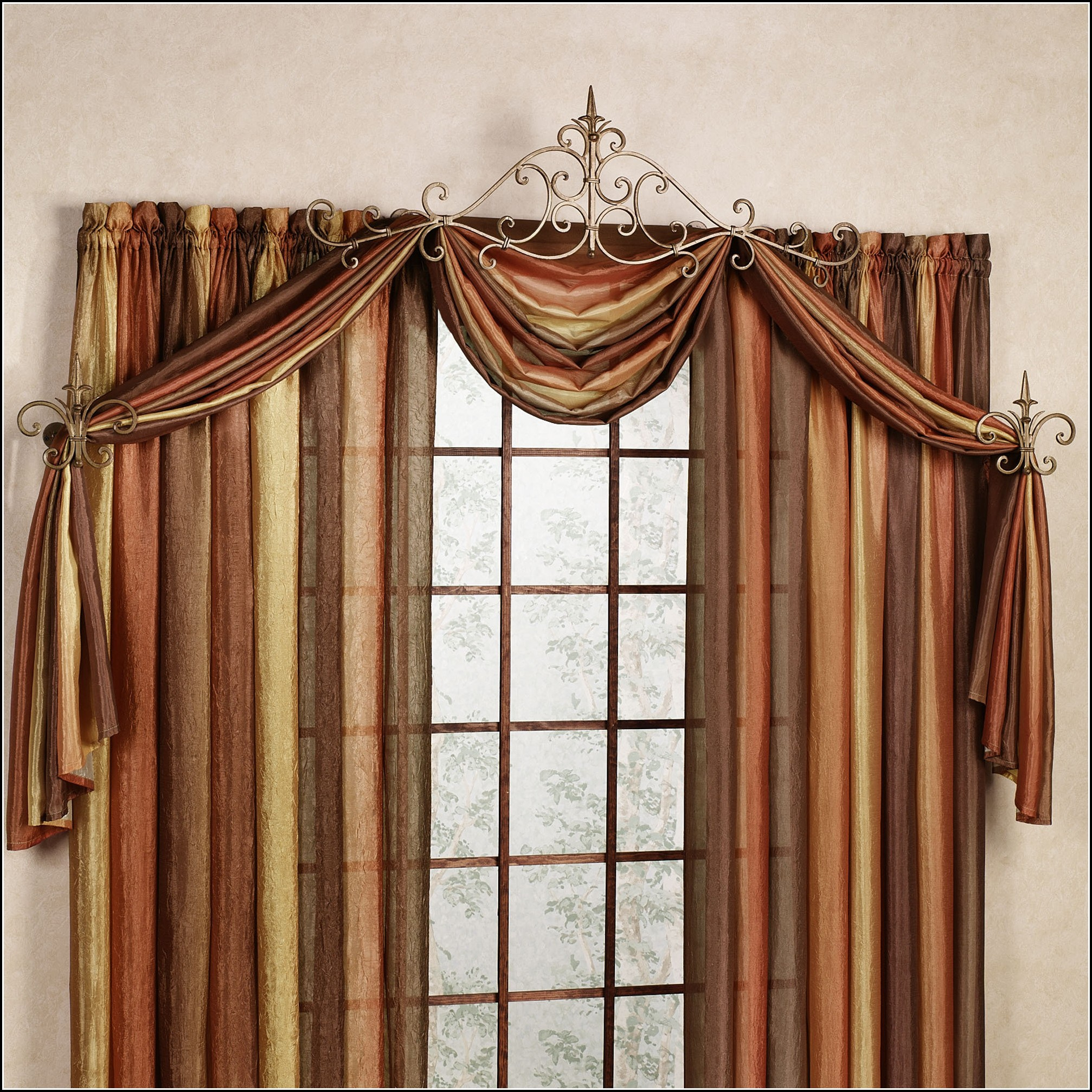 Decorative Curtain Rods And Hardware