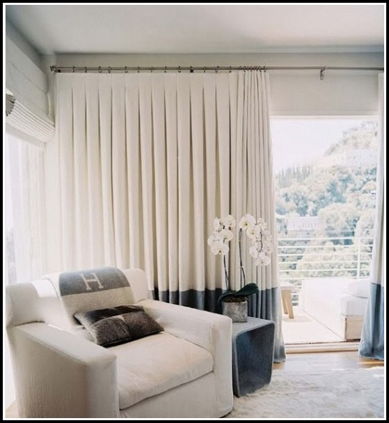 Double Pinch Pleat Sheer Curtains