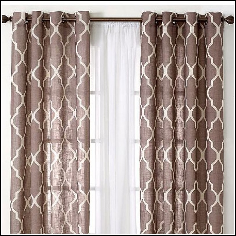 Double Wide Window Panels Curtains