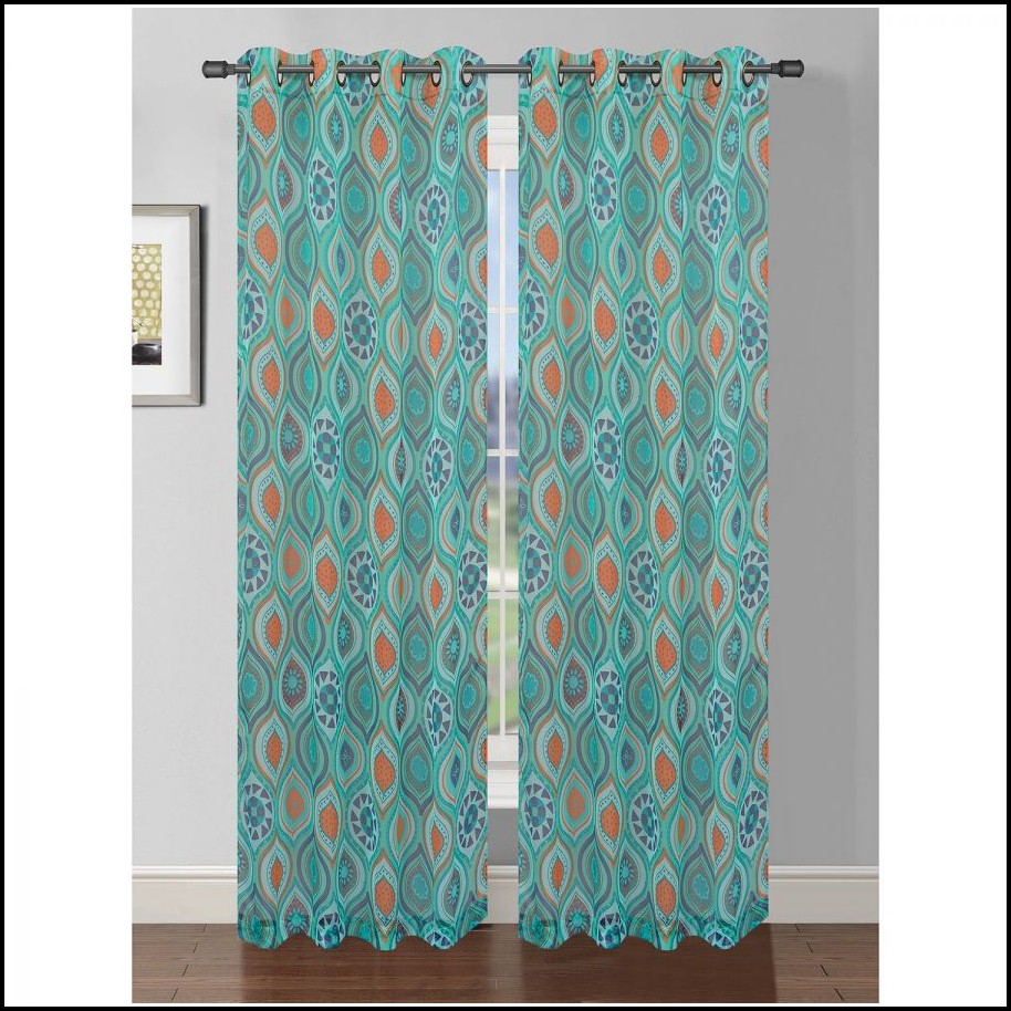 Extra Wide Bay Window Curtains
