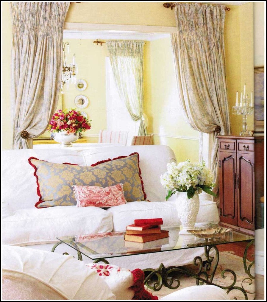 French Country Curtains Ideas
