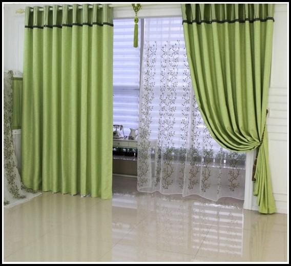 Green And Brown Shower Curtains