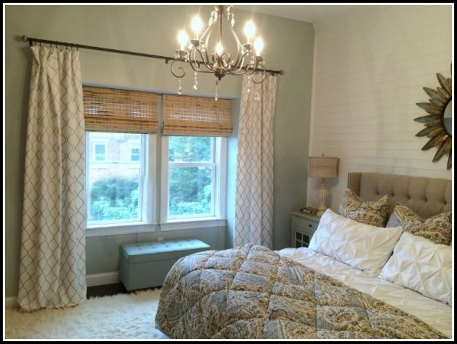 Hang Curtain Rod From Ceiling