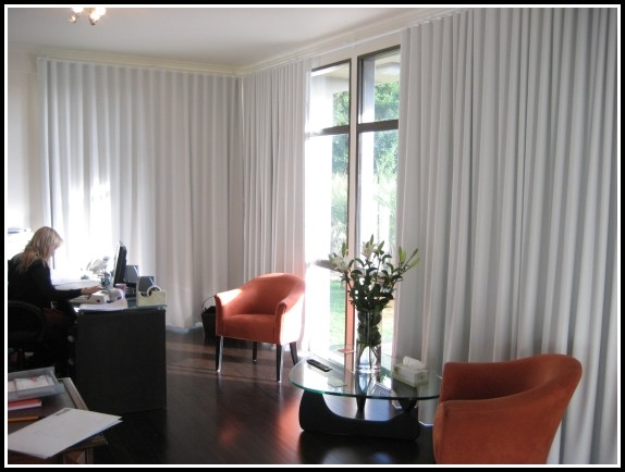 Hide Vertical Blinds With Curtains
