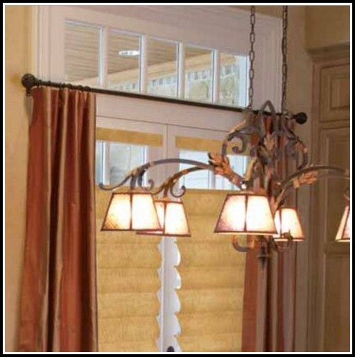 Iron Curtain Rods And Finials