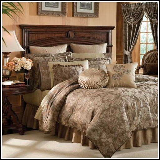 King Comforter Sets With Curtains