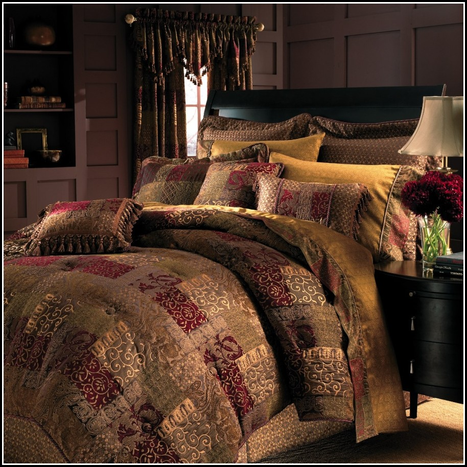 King Size Bedding With Matching Curtains