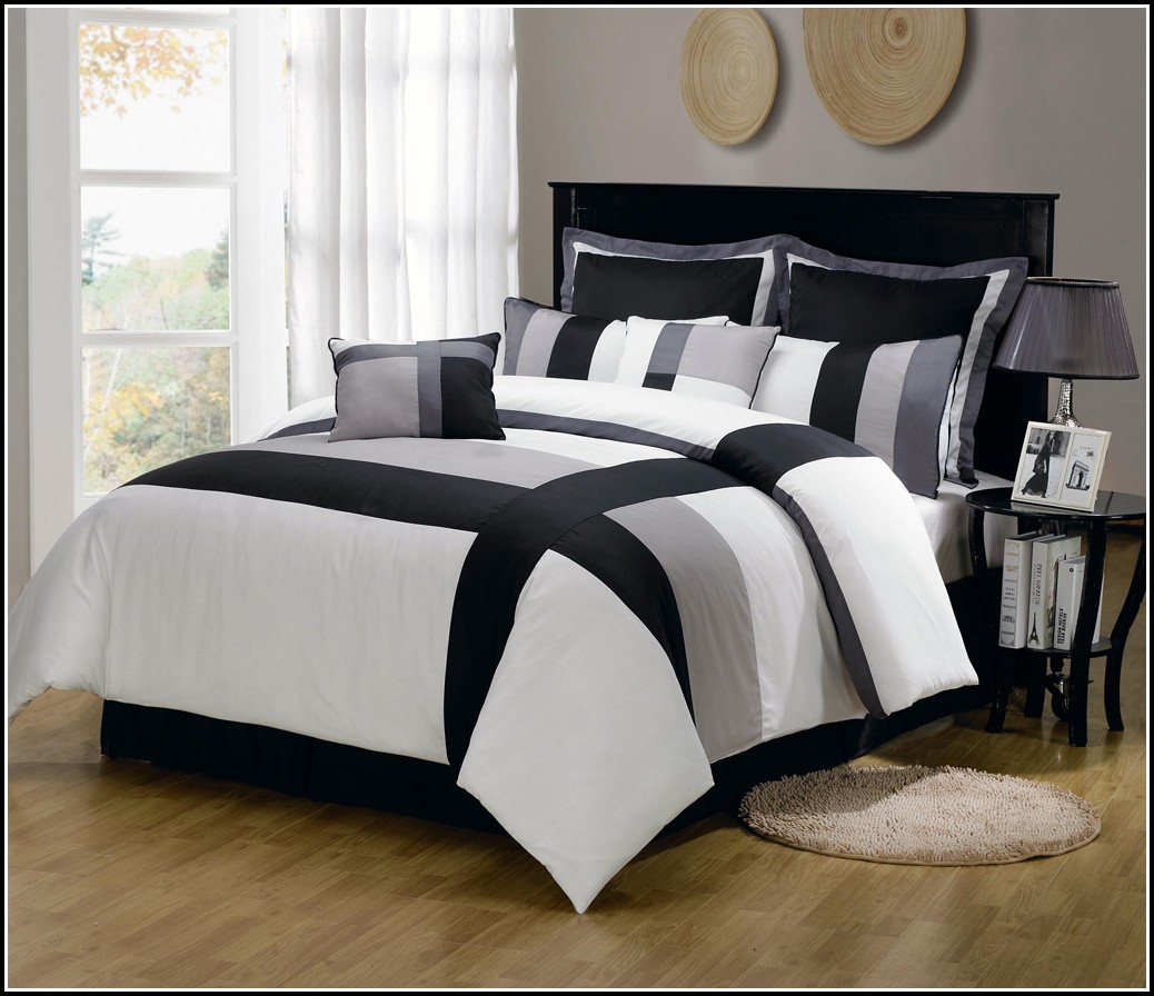 King Size Comforter Set With Curtains