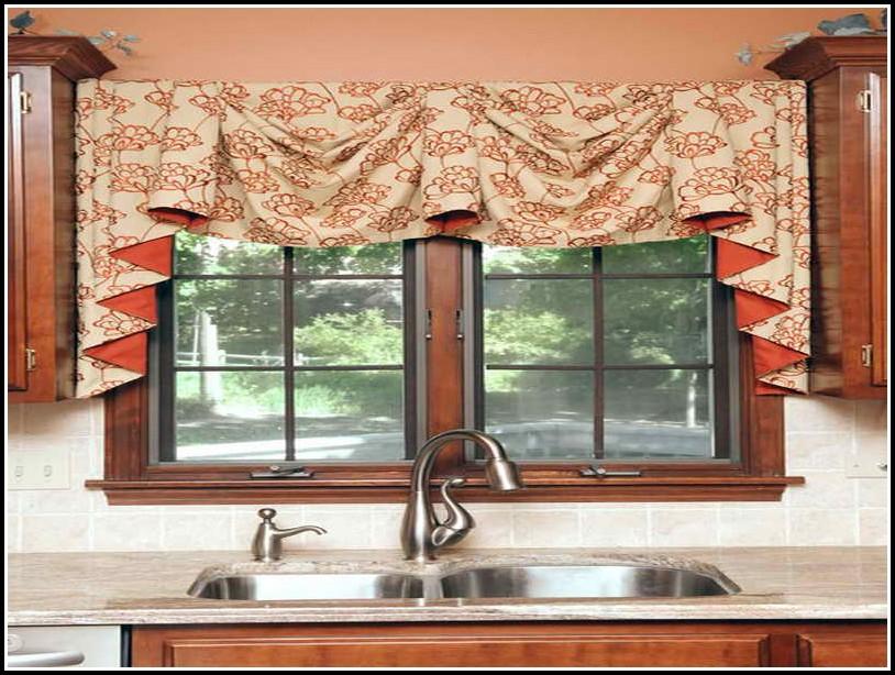 Kitchen Curtains And Valances Diy