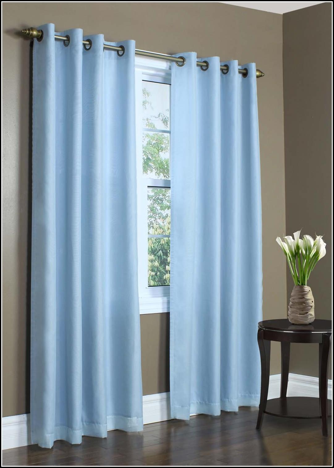 Light Blue Panel Curtains