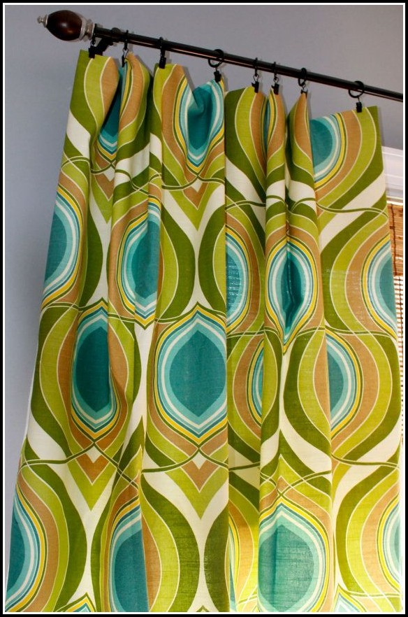 Lime Green And Yellow Curtains