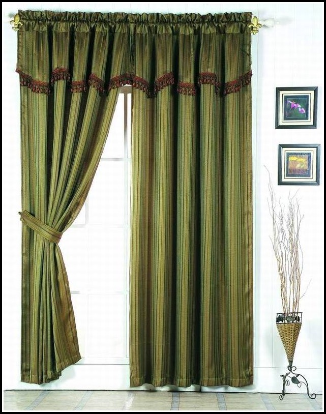 Lime Green Sheer Curtain Scarf
