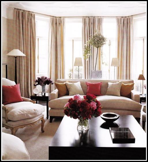 Living Room Window Curtain Styles